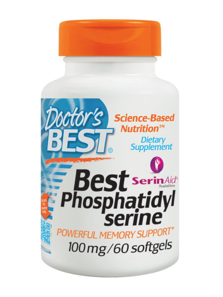 Best Phosphatidyl Serine, 60 soft gels, Doctor's Best