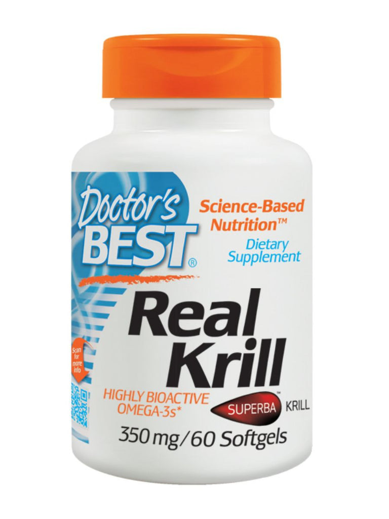 Real Krill, 60 soft gels, Doctor's Best
