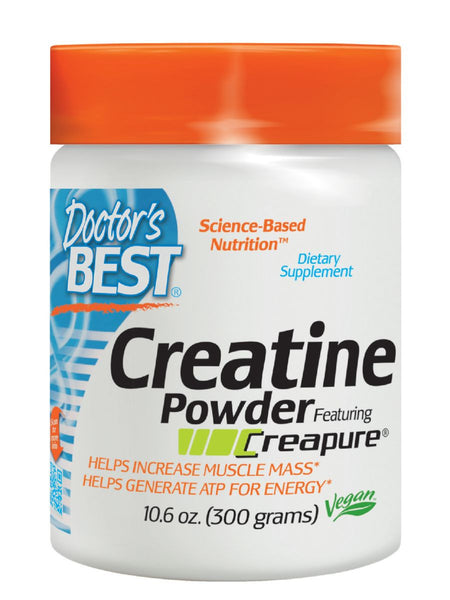 Doctor's Best, Creatine Powder with Creapure, 300 grams