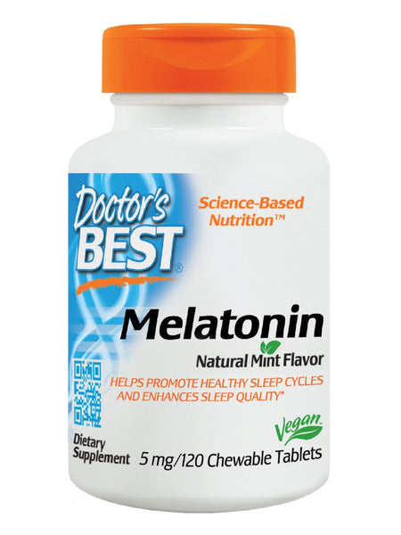 Doctor's Best, Melatonin, 5 mg, 120 tabs