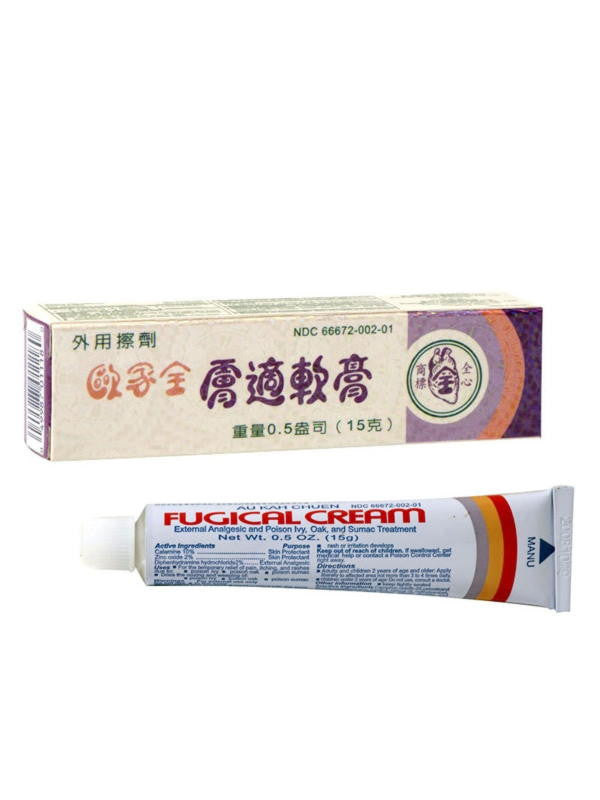Fugical Cream, 0.5 oz, Au Kah Chuen
