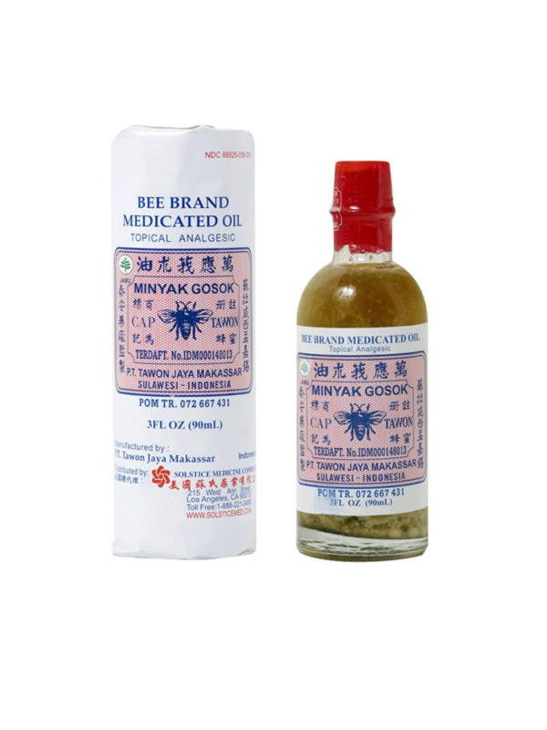 Medicated Oil, 3 fl oz, Bee Brand