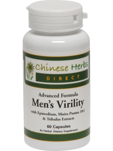 Advanced Formula Men's Virility, 60 ct, Chinese Herbs Direct