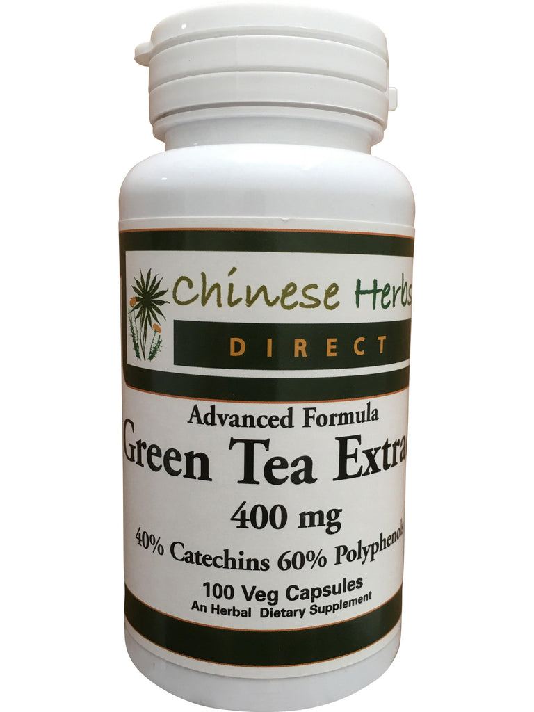 Advanced Formula Green Tea Extract, 100 ct, Chinese Herbs Direct