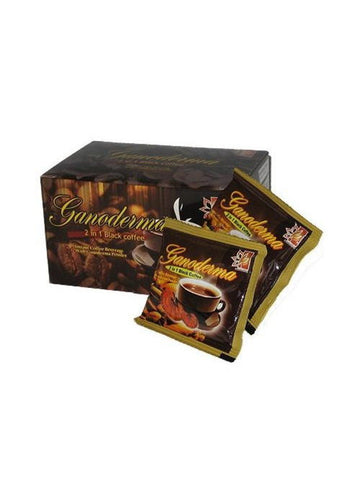 Ganoderma Coffee, 2 in 1, 20 packets, Dynalab