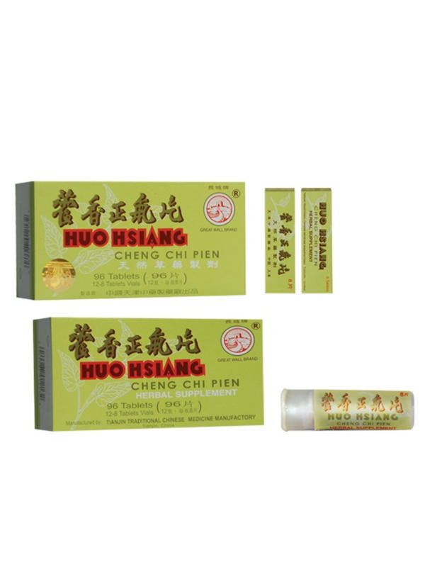 Huo Hsiang Cheng Chi Pien, 96 ct, Great Wall