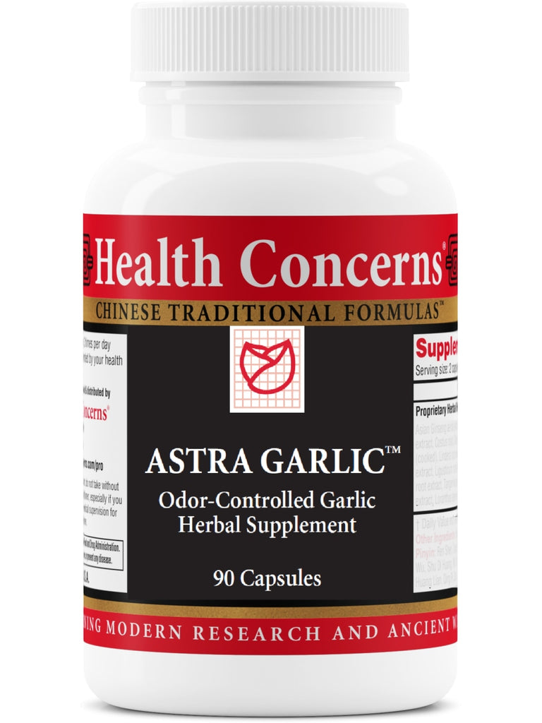 Astra Garlic, 90 ct, Health Concerns