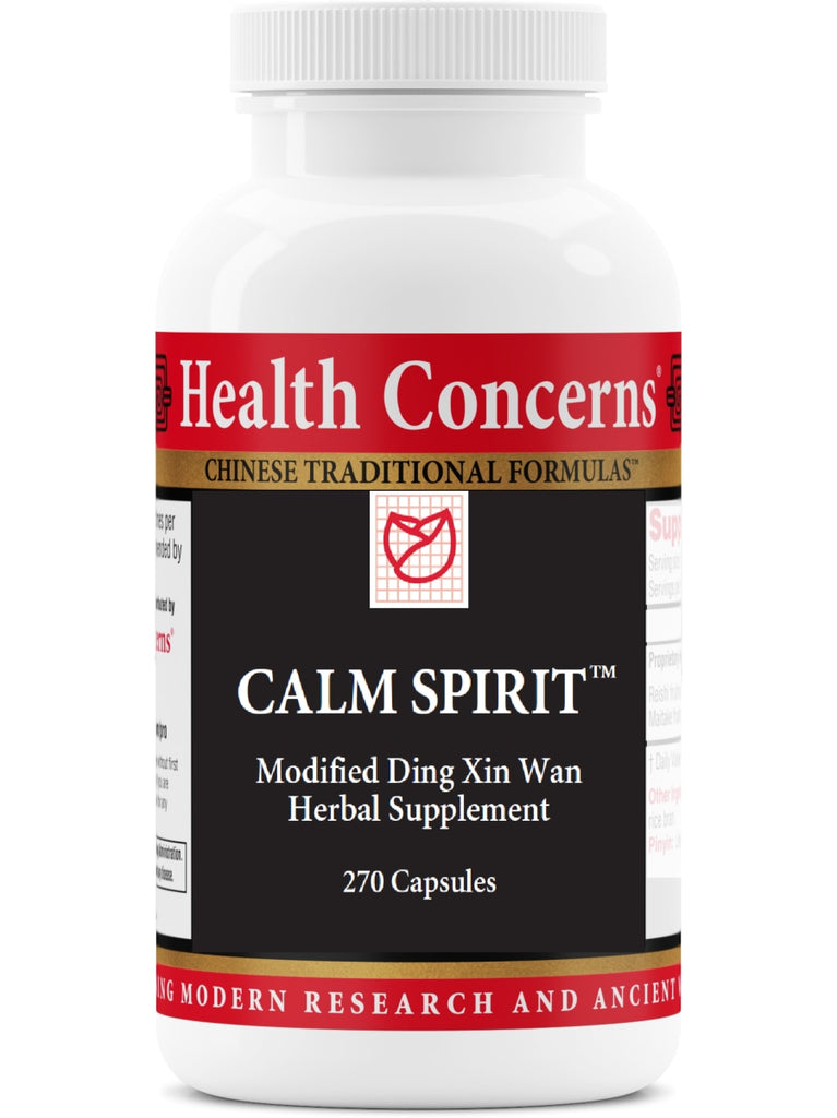 Calm Spirit, Economy Size, 270 ct, Health Concerns