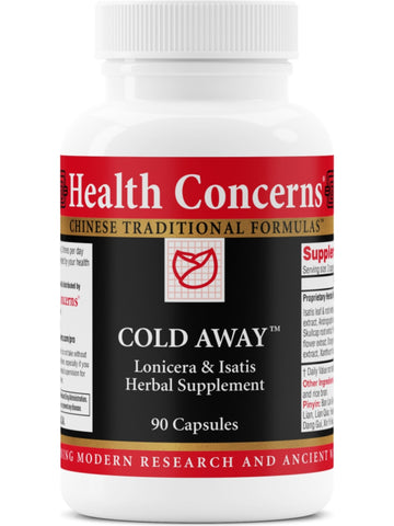 Cold Away, 90 ct, Health Concerns