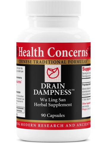 Drain Dampness, 90 ct, Health Concerns