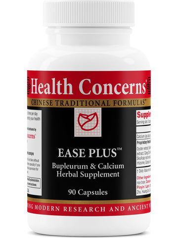 Ease Plus, 90 ct, Health Concerns