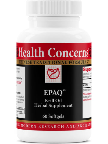 EPAQ, 60 softgels, Health Concerns