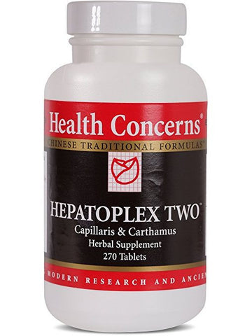 Hepatoplex Two, Economy Size, 270 ct, Health Concerns