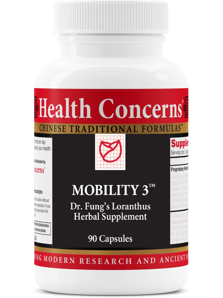 Mobility 3, 90 ct, Health Concerns