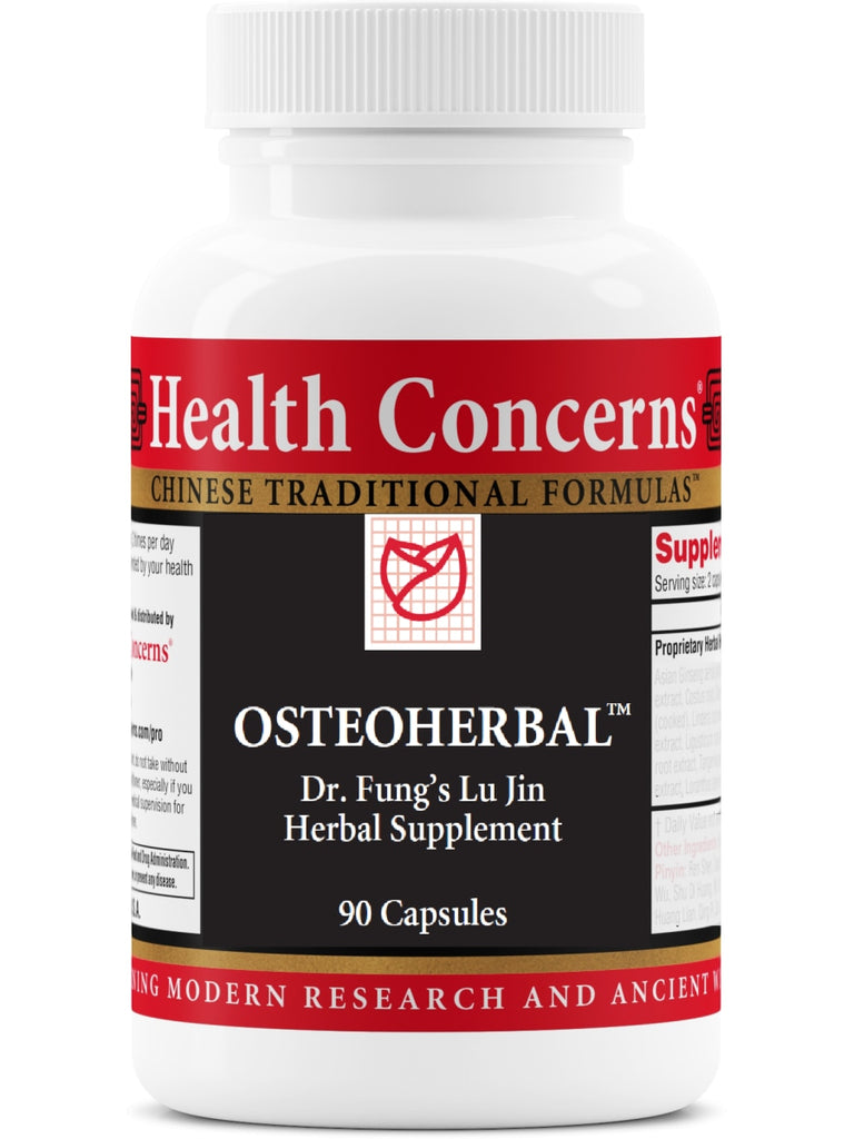 OsteoHerbal, 90 ct, Health Concerns