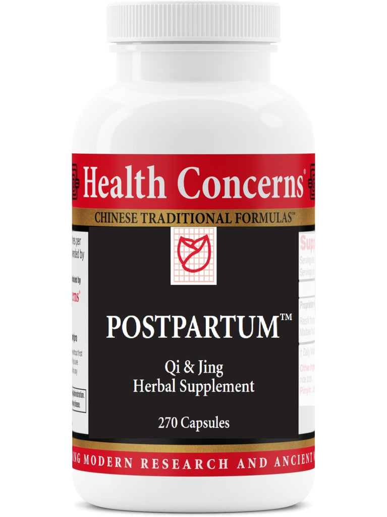 Postpartum, 270 ct, Health Concerns