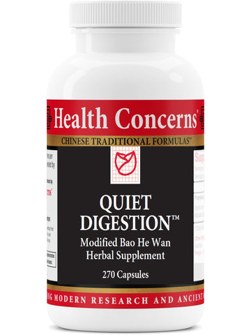 Quiet Digestion, Economy Size, 270 ct, Health Concerns
