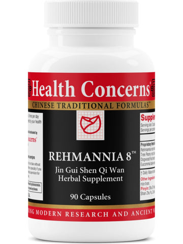 Rehmannia 8, 90 ct, 90 ct, Health Concerns