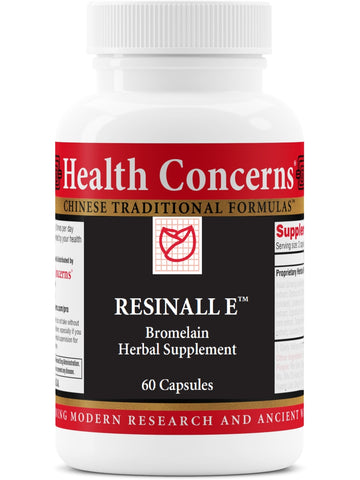 Resinall E Tabs, 60 ct, Health Concerns