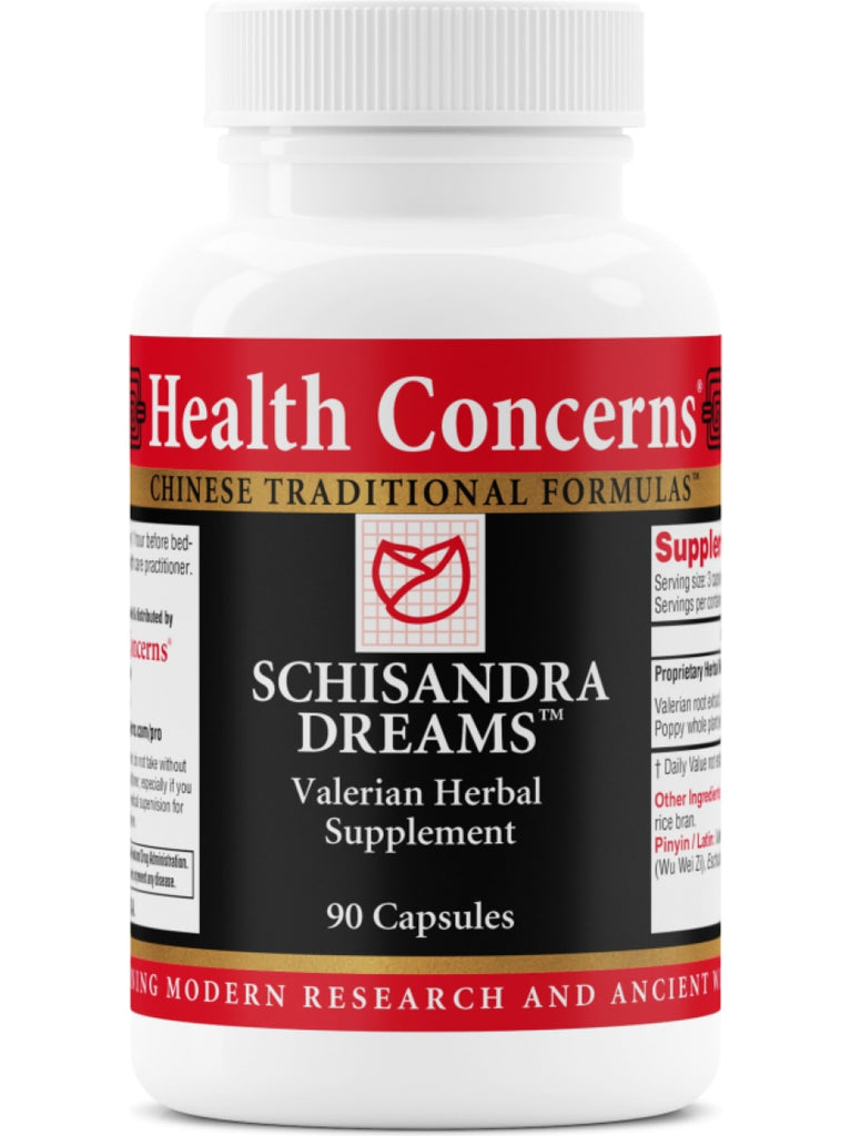 Schisandra Dreams, 90 ct, Health Concerns