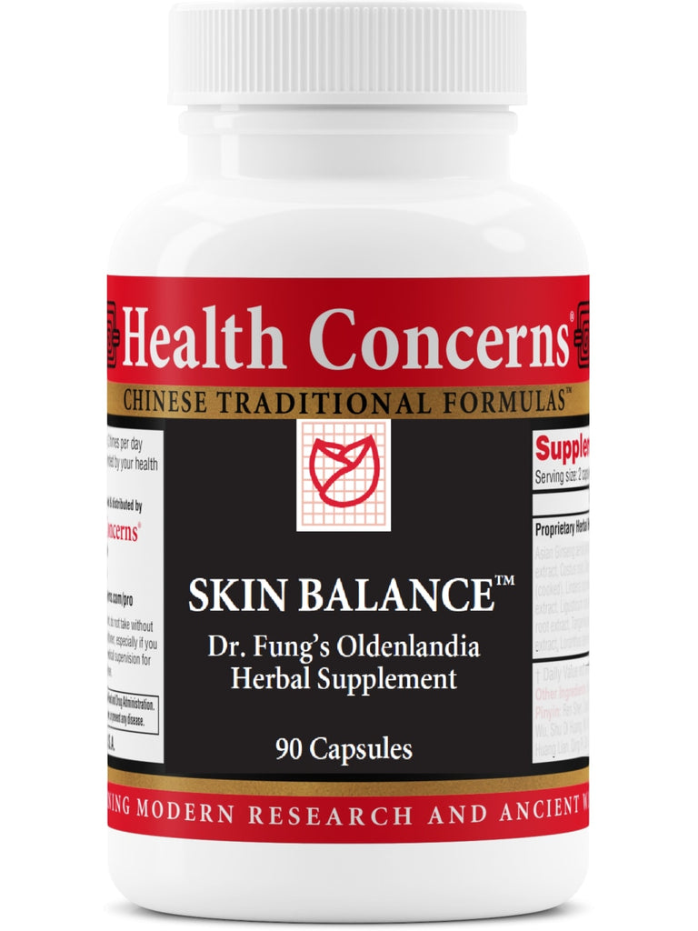 Skin Balance, 90 ct, Health Concerns