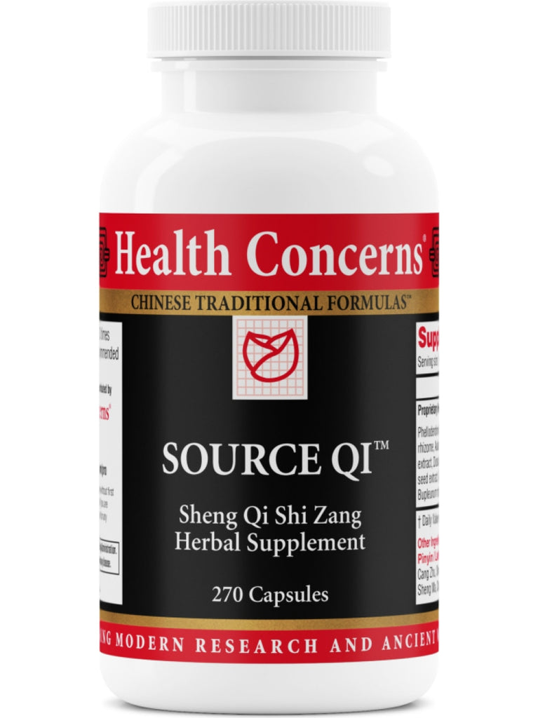 Source Qi, 270 ct, Health Concerns
