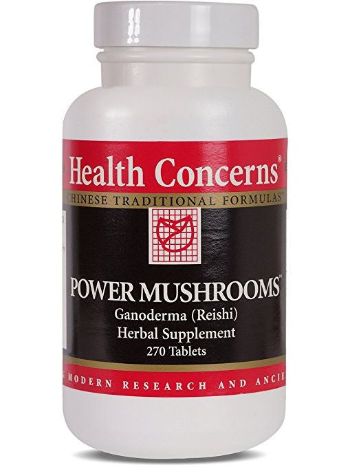 Power Mushrooms, Economy Size, 270 ct, Health Concerns