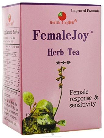 FemaleJoy Tea, 20 tea bags, Health King