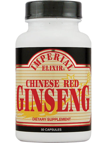 Chinese Red Ginseng, 50 cap, Imperial Elixir