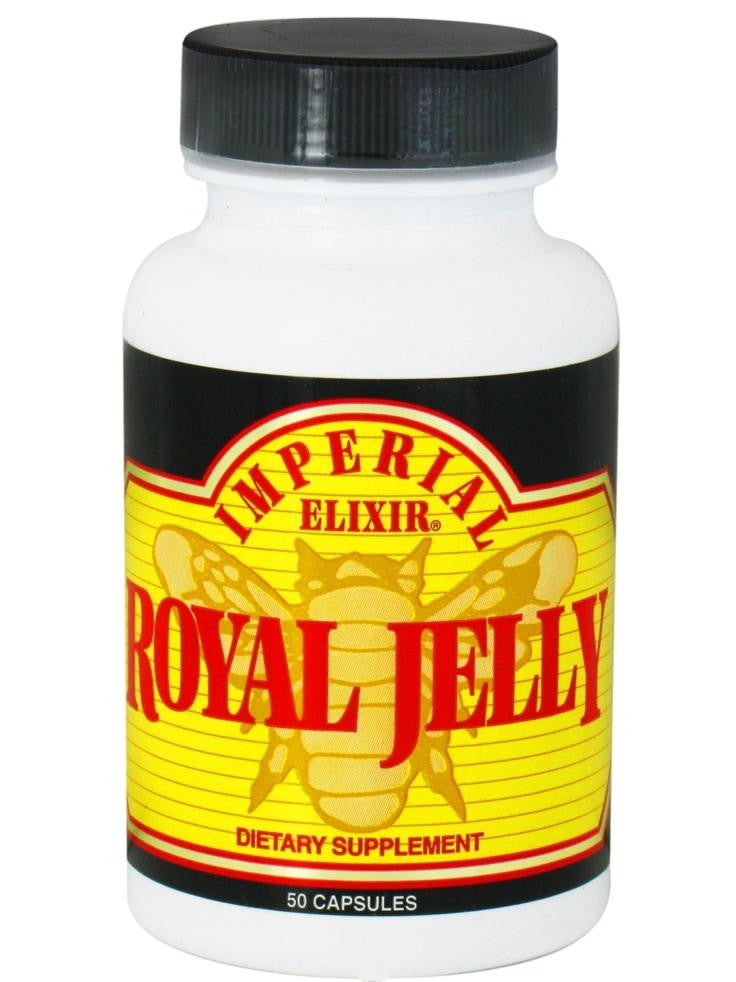 Royal Jelly 500mg, 50 cap, Imperial Elixir