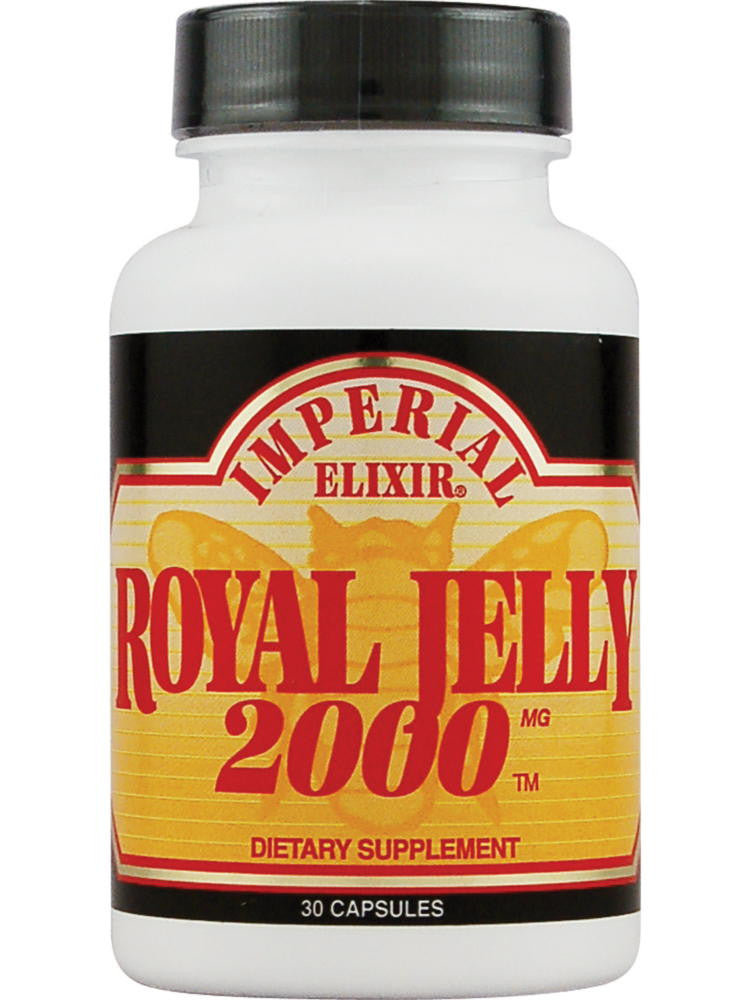 Royal Jelly 2000mg, 30 cap, Imperial Elixir