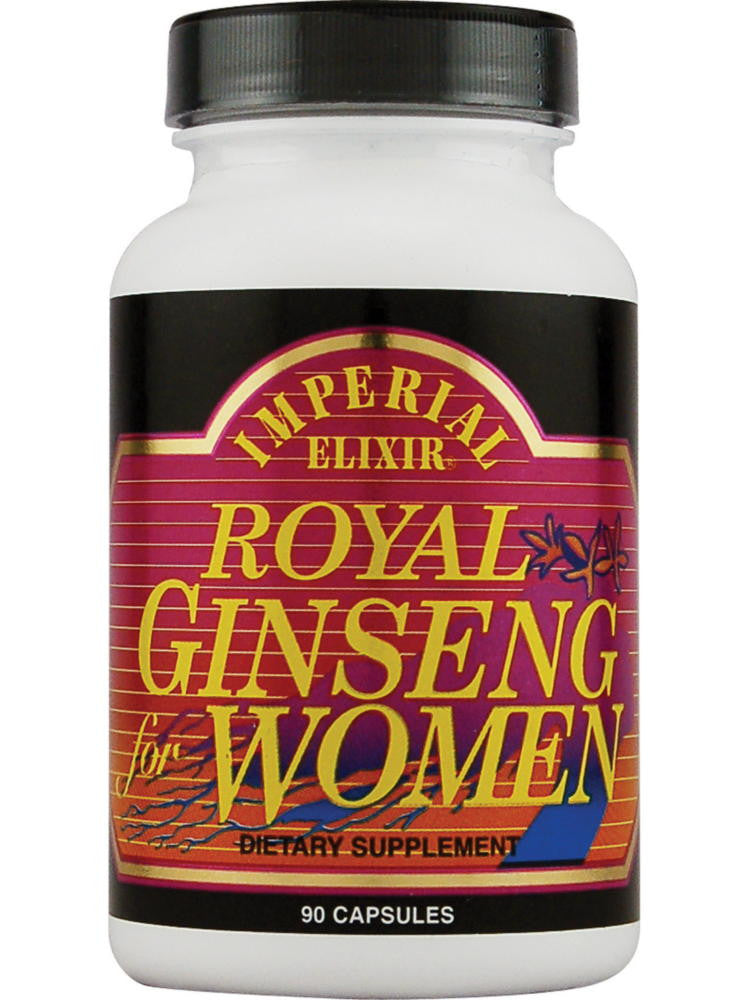 Royal Ginseng for Women, 90 cap, Imperial Elixir
