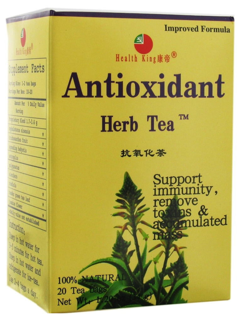 Antioxidant Tea, 20 tea bags, Health King