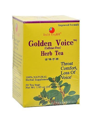 Golden Voice Tea, 20 tea bags, Health King