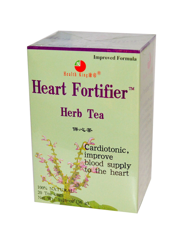 Heart Fortifier Tea, 20 tea bags, Health King