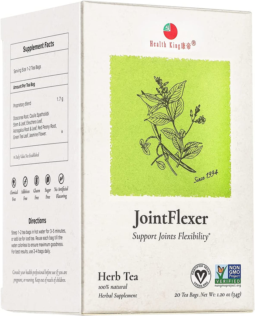 JointFlexer Tea, 20 tea bags, Health King