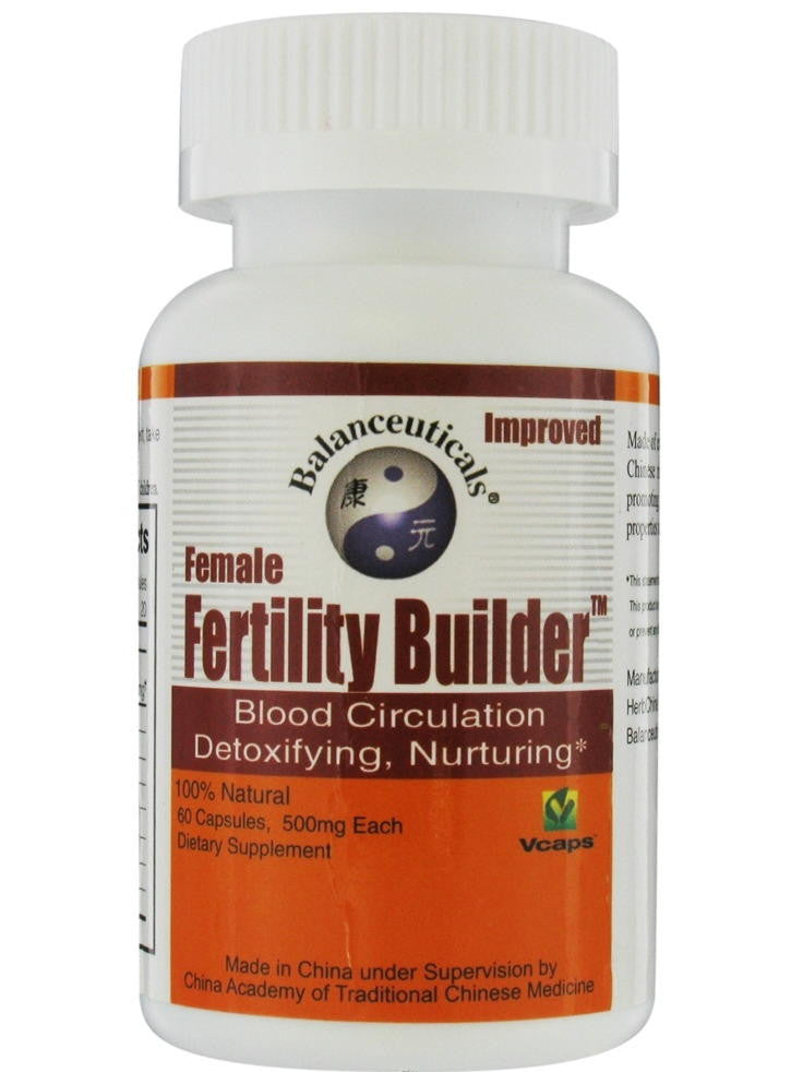 Female Fertility Builder, 60 ct, Balanceuticals