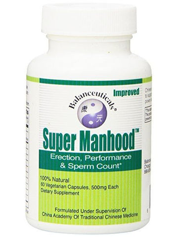 Super Manhood, 60 ct, Balanceuticals