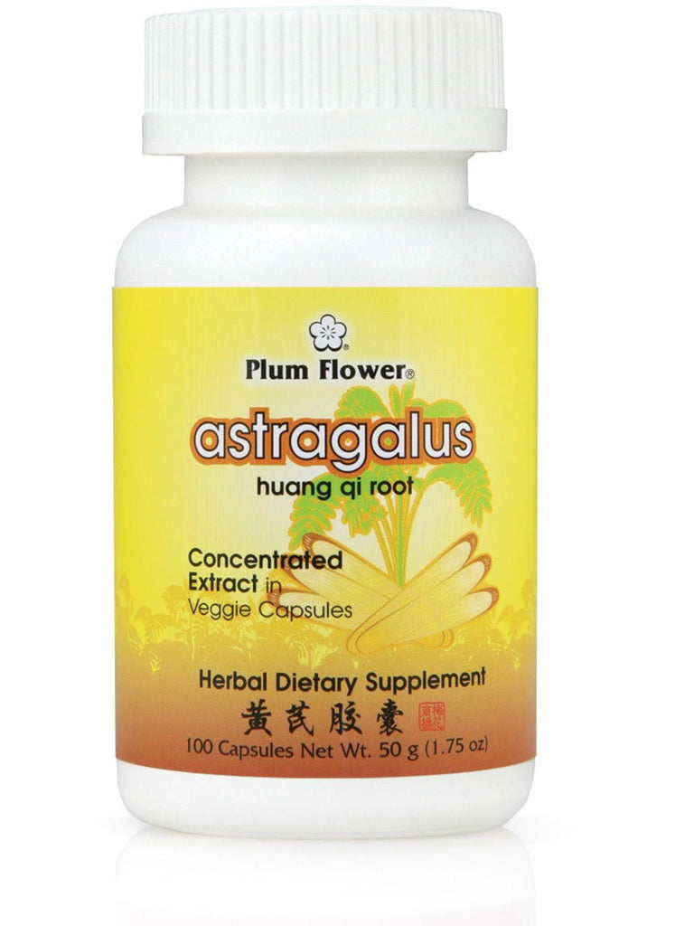 Astragalus, Huang Qi, 100 ct, Plum Flower