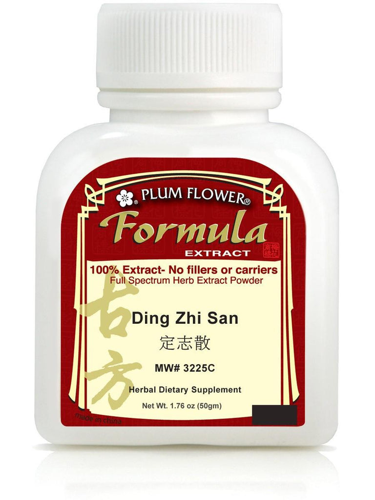 Ding Zhi San, 100 grams extract powder, Plum Flower