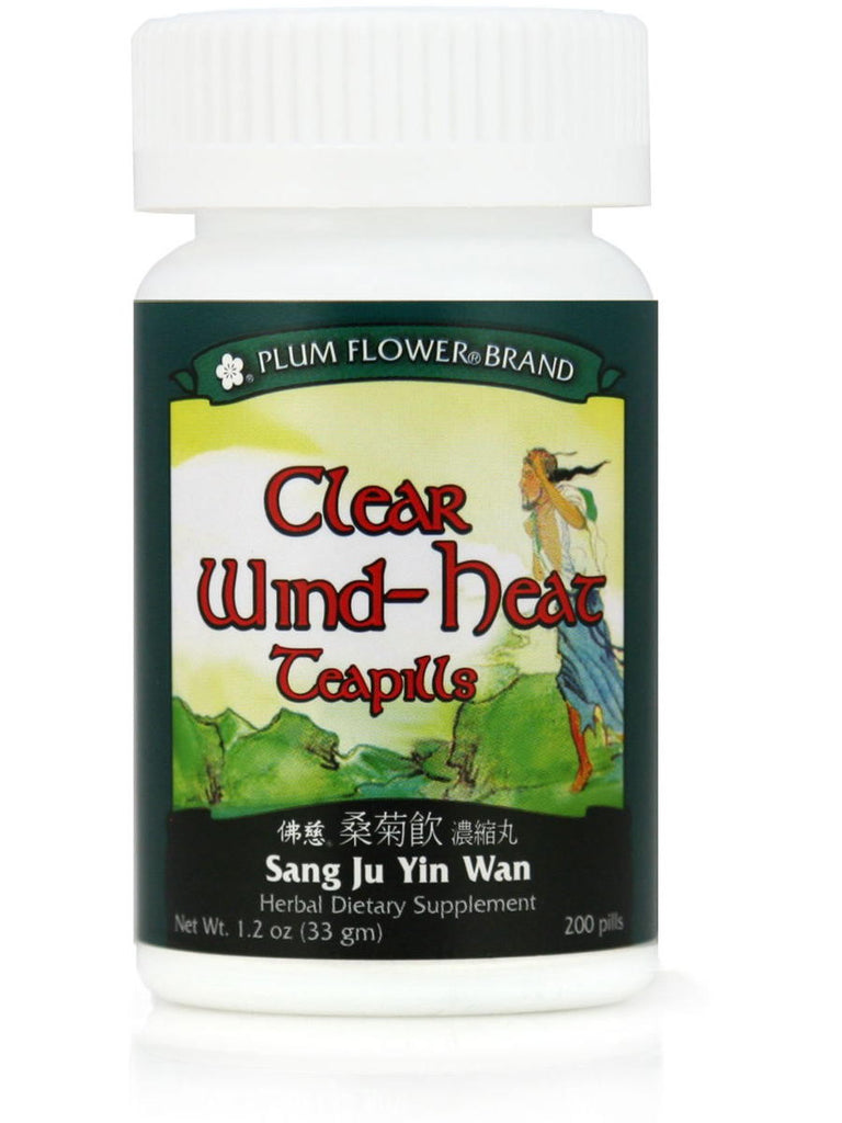 Clear Wind Heat Formula, Sang Ju Yin Wan, 200 ct, Plum Flower