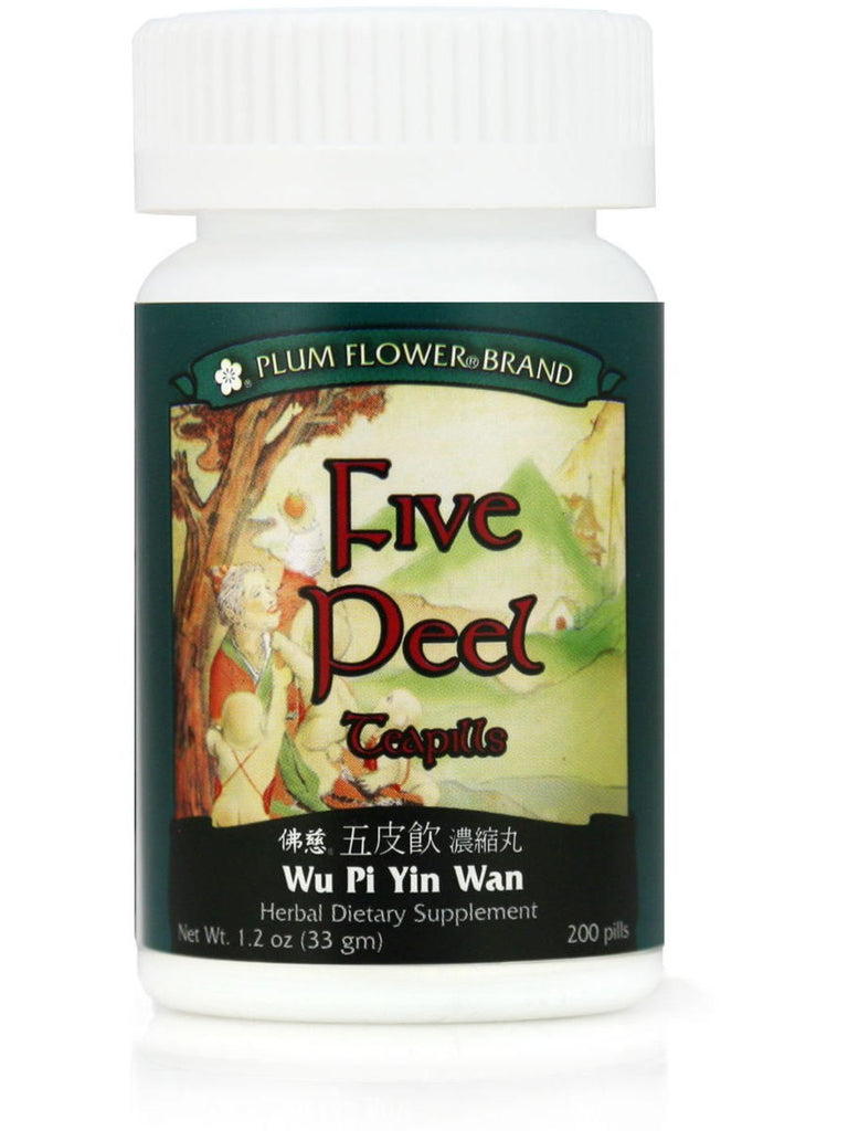 Five Peel Formula, Wu Pi Yin Wan, 200 ct, Plum Flower