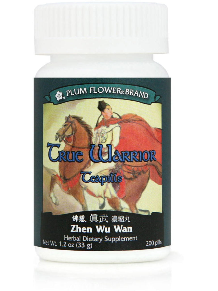 True Warrior Formula, Zhen Wu Tang Wan, 200 ct, Plum Flower