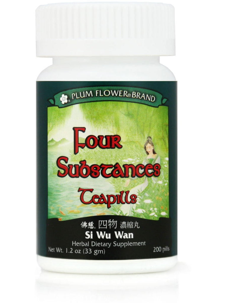 Four Substances For Women, Si Wu Tang Wan, 200 ct, Plum Flower