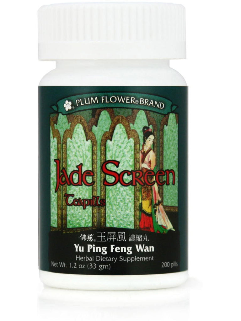 Jade Screen, Yu Ping Feng San Wan, 200 ct, Plum Flower