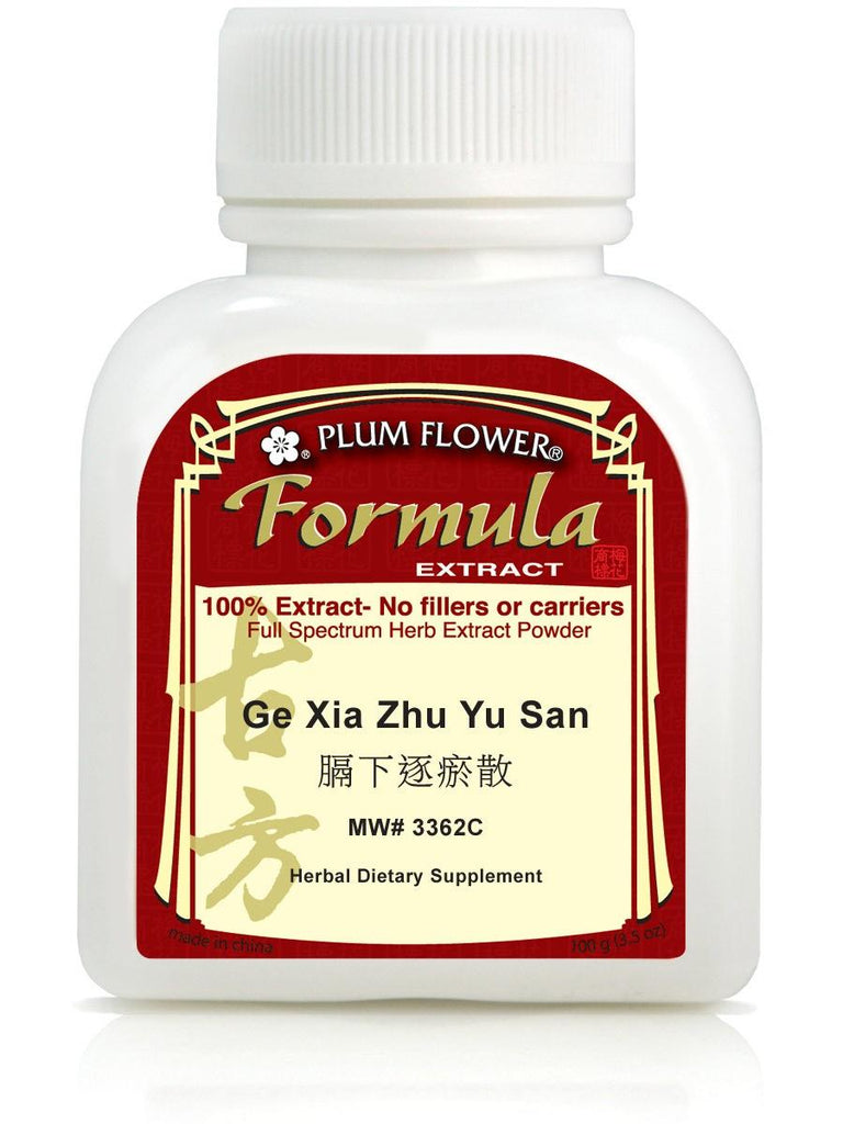 Ge Xia Zhu Yu San, 100 grams extract powder, Plum Flower