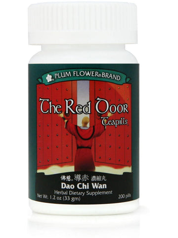 Red Door Formula, Dao Chi Wan, 200 ct, Plum Flower