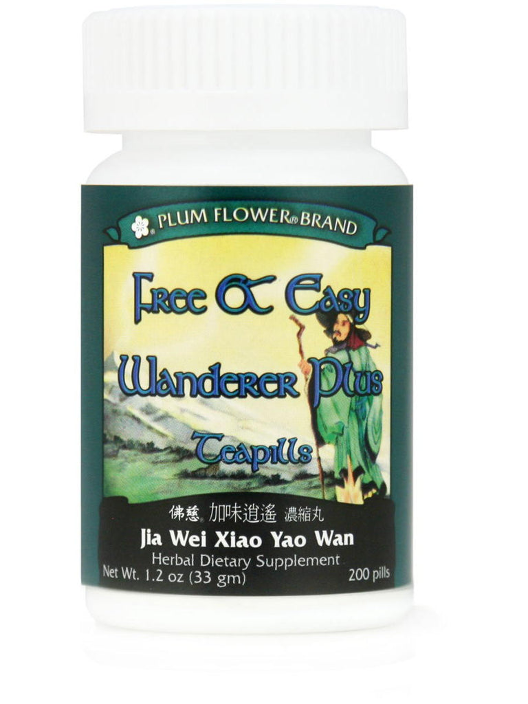 Free & Easy Wanderer Plus, Jia Wei Xiao Yao Wan, 200 ct, Plum Flower