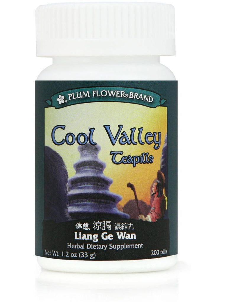 Cool Valley Formula, Liang Ge Wan, 200 ct, Plum Flower