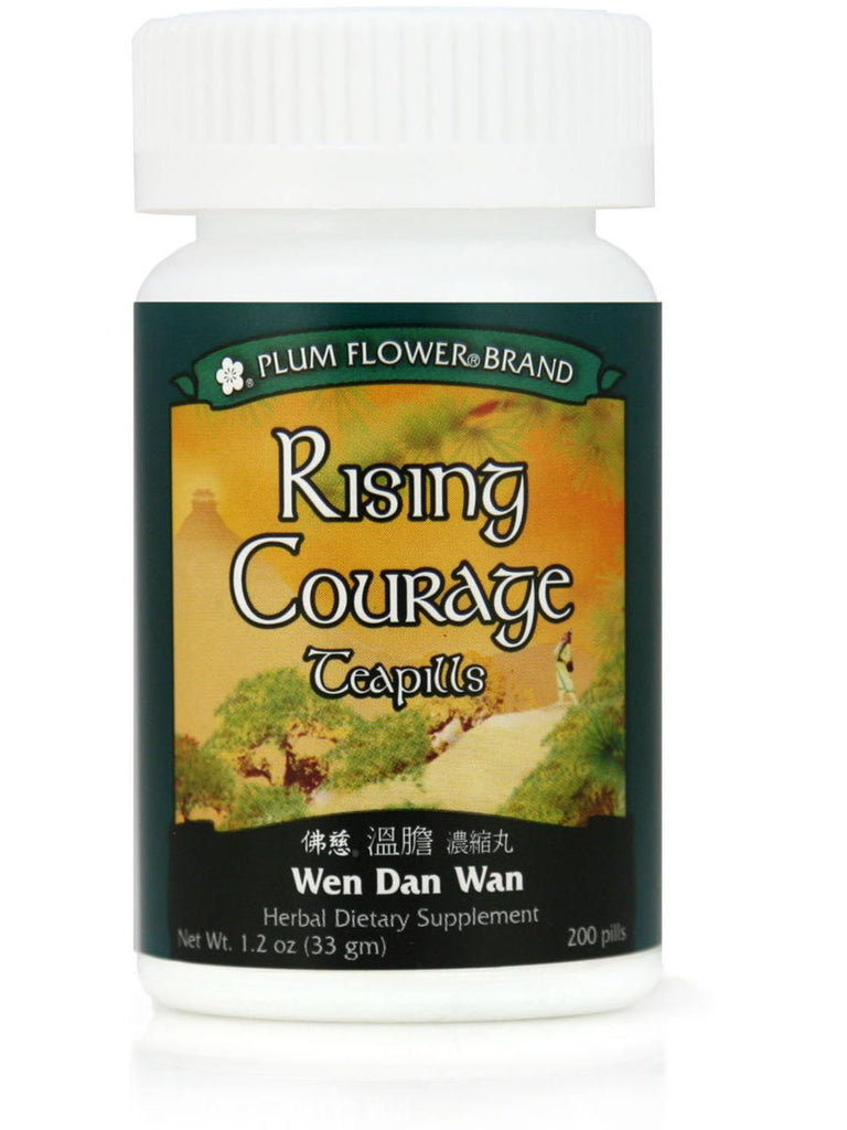 Rising Courage Formula, Wen Dan Tang Wan, 200 ct, Plum Flower